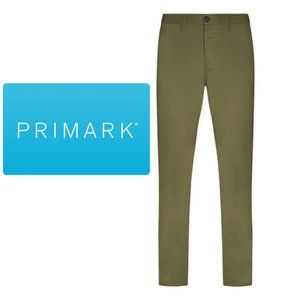 Primark Stretch Slim Chinos - 34W x 34L